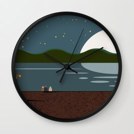 Lake Holiday Wall Clock