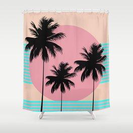 Hello California - Ocean Breeze Shower Curtain