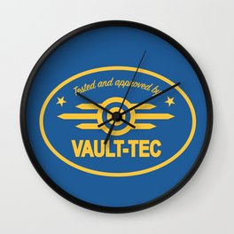 Vault Tec Wall Clock