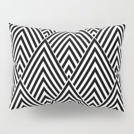 Triangles in Diamonds Pillow Sham