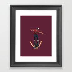 reflexion Framed Art Print