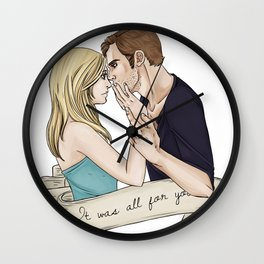 Klaus and Caroline Wall Clock