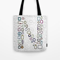 letter N - nailed frames Tote Bag