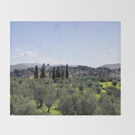 Tuscan Hills Throw Blanket
