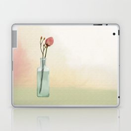 Flowers in Glass Laptop & iPad Skin