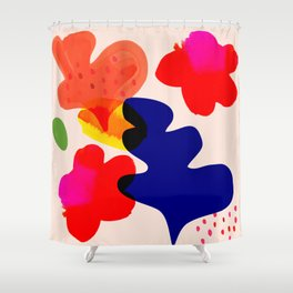 Beauty before me Shower Curtain