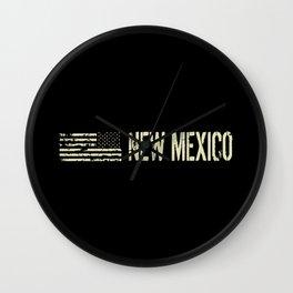 Black Flag: New Mexico Wall Clock
