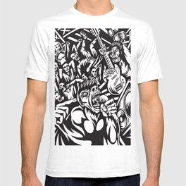 Illustration of Rock Concert T-shirt