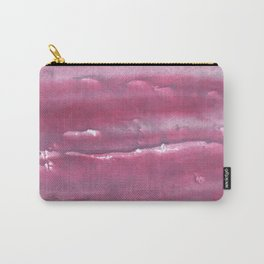 Indian red colorful watercolor Carry-All Pouch