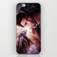 castiel iPhone & iPod Skins featuring Castiel by jasric
