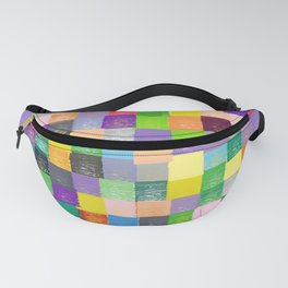 Pixelated Patchwork Fanny Pack