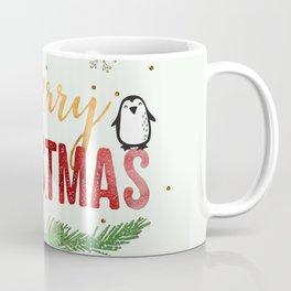 Merry Christmas Penguin! Coffee Mug