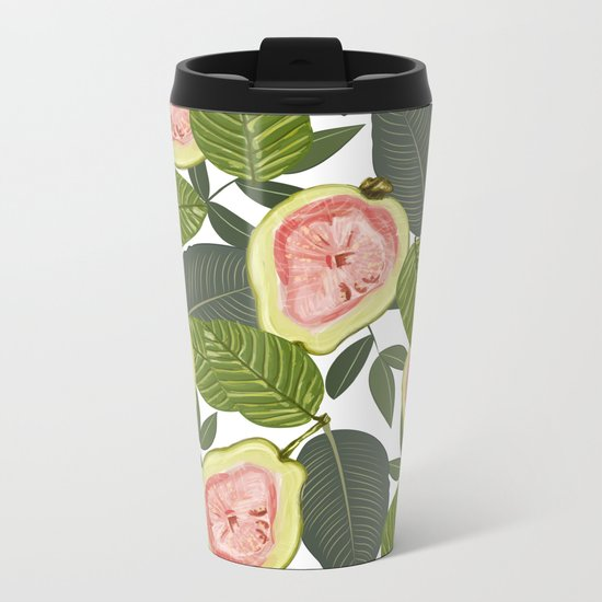 Guava #society6 #decor #buyart Metal Travel Mug