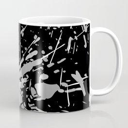Paint Splash Mono Coffee Mug