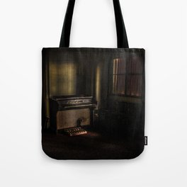 Tainted Piano Tote Bag