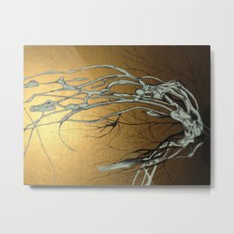 Branching Out by Kierra Colquitt Metal Print