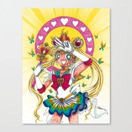 SUPER SAILOR MOON Canvas Print