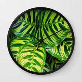 Leaf 1 Wall Clock
