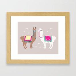 Drama Llama Framed Art Print