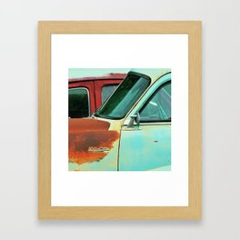 side of rust Framed Art Print