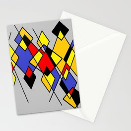 Grey multicolor Stationery Cards