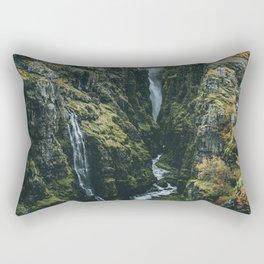 Glymur Falls Rectangular Pillow