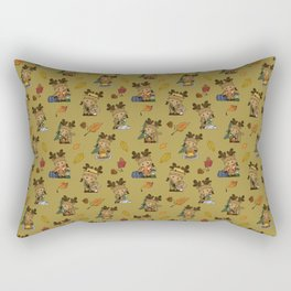 MOOSE CROSSING Rectangular Pillow