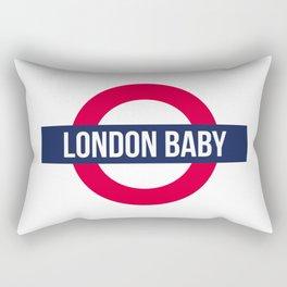 London baby - subway sign souvenir Rectangular Pillow