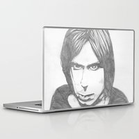 iggy Laptop & iPad Skins featuring Iggy Pop - Sketch by Hey!Roger