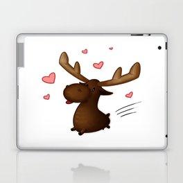 Chibi Lovestruck Moose Laptop & iPad Skin