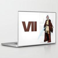 jedi Laptop & iPad Skins featuring Old jedi  by Akyanyme