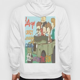 One Direction Live Like We're Young Cartoon Hoody