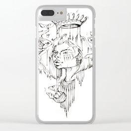 H O O K + E D Clear iPhone Case