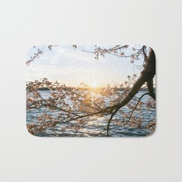 Sun Over the Horizon Bath Mat