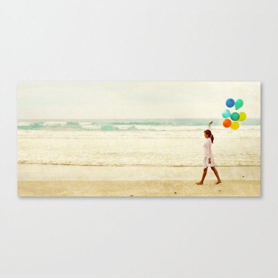 Colorful Stillness Canvas Print