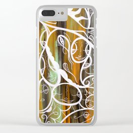 Dirty Laundry Clear iPhone Case
