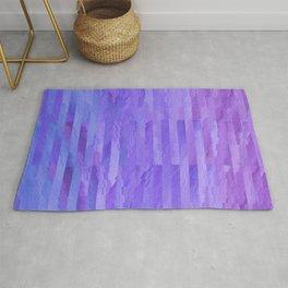 Watercolor Daydream - Purple Rug
