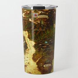 Eorzea map Travel Mug