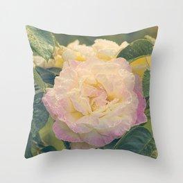 Summer's Rose Throw Pillow