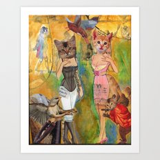 Our Exquisite New Corsets Art Print