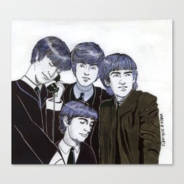 The Fabulous Four Canvas Print