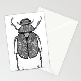 Scarab Beetle Stationery Cards