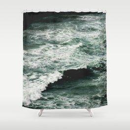 Glory Waves Shower Curtain
