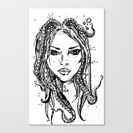 Octovixen Canvas Print