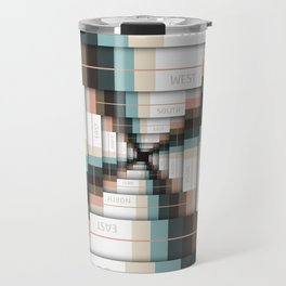 Layers of Directions Travel Mug