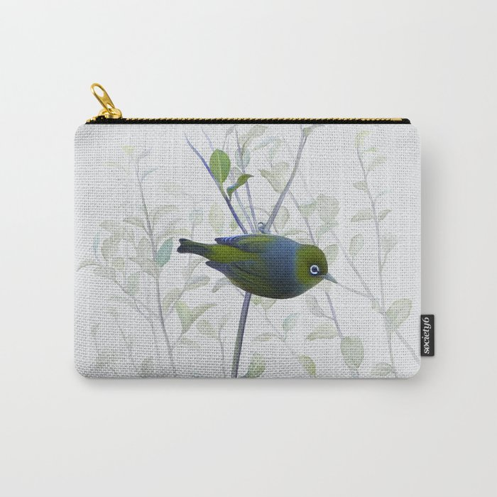 Little Silvereye Carry-All Pouch