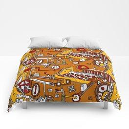 Looming Large Comforters