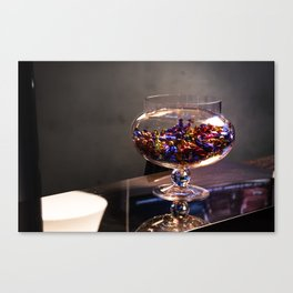 Bowl of candy Canvas Print