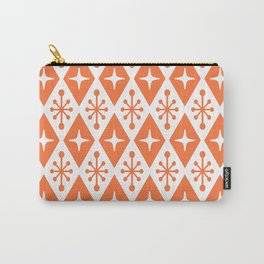 Mid Century Modern Atomic Triangle Pattern 118 Carry-All Pouch