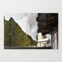 Melting, Sliding Canvas Print